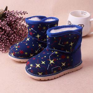 BOTTE huadedu  Hiver bébé fille enfant Chaussures en cui