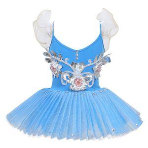 fa91260f79 TUTU - JUSTAUCORPS Enfant Fille Robe Danse Justaucorps Gymnastique Tu
