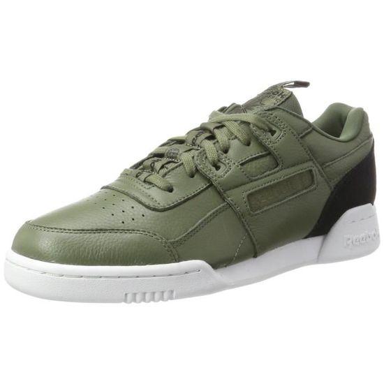 Reebok Workout De plus, il Sneakers-top pour hommes 3P3TY7 Taille-39 Noir Noir - Achat / Vente basket