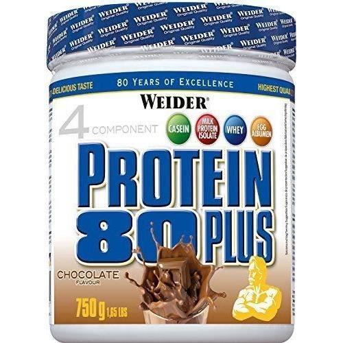 WEIDER Boîte de Protein 80+ Choco 750g