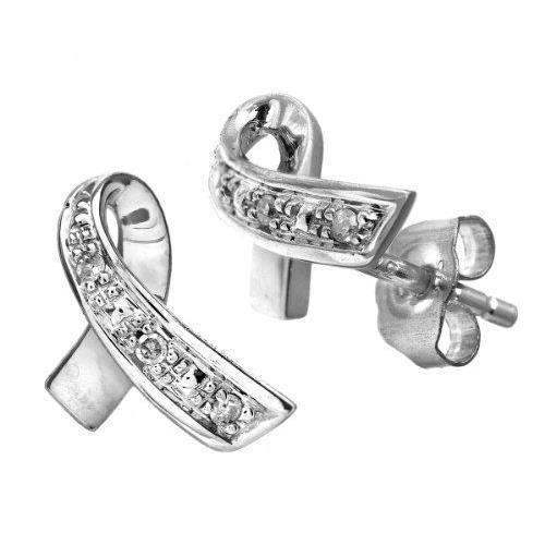 . Boucles doreilles. Femme. Or. Blanc 375/1000 9. Cts 0.85. Gr. Diamant.…