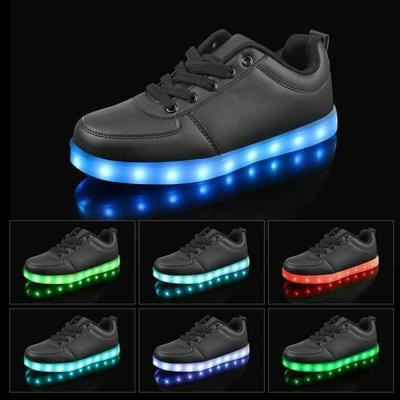 Lacets Lumineux OFFERT Chaussures LED Femme Hom... BFxtp