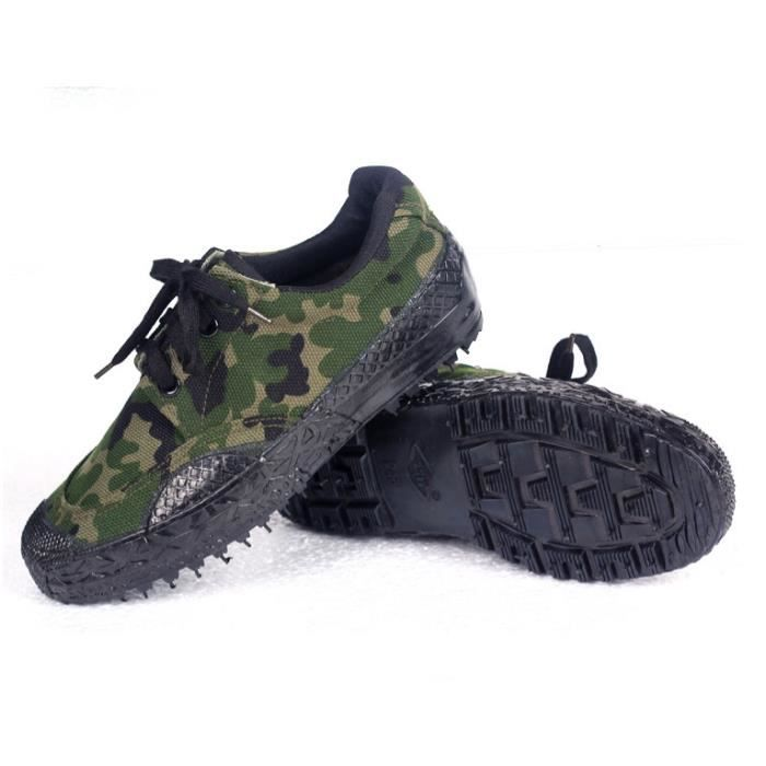 Hommes camouflage chaussures de toile chaussure... eiVO10RM