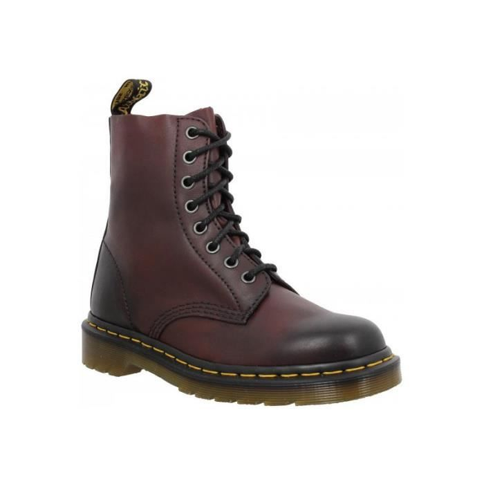 Chaussure Dr Martens Pascal cherry red AntiqueTemberley