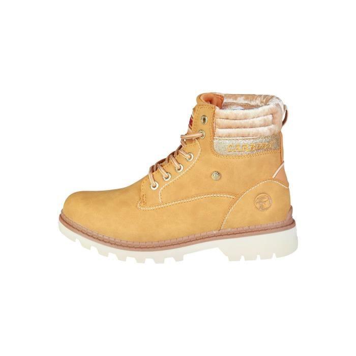 Bottines Femmes Automne Hiver talon épais en cuir bottes BBDG-XZ019Noir38 J5632ZF