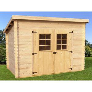Abri de jardin en bois une pente - Achat / Vente Abri de jardin en ...