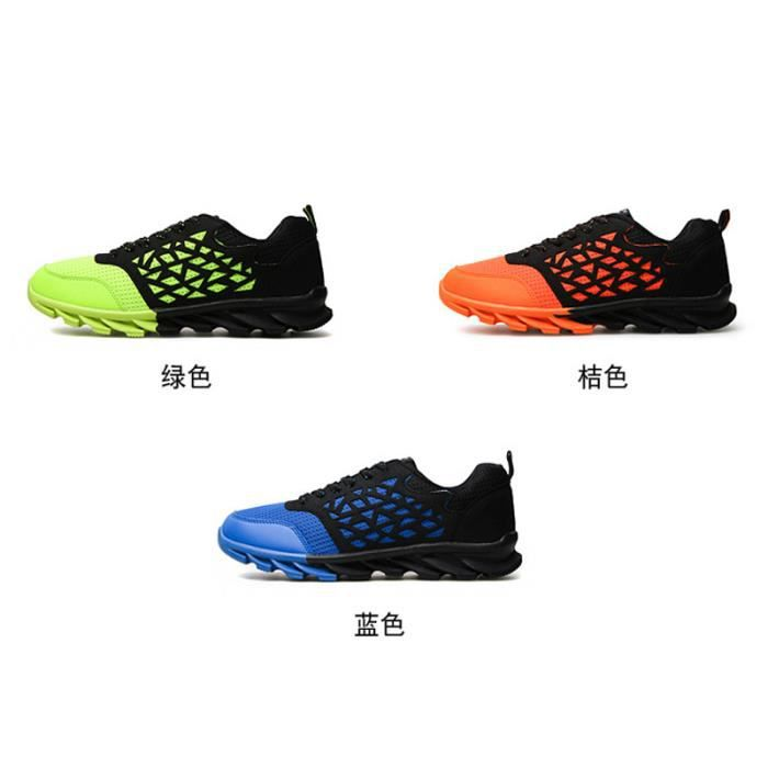 Basket Chaussure Homme Respirant Sport Running Confortable Casual Marque Huaraches Air Chaussures de Voyage Pour Homme