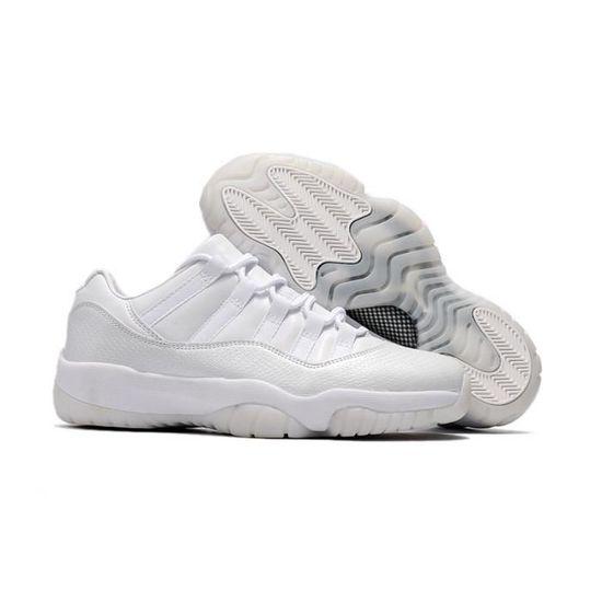 Air Jordan 11 blanc Low GS HEIRESS numéro 41-47 Chaussures de sport blanc - Achat / Vente basket - Cdiscount