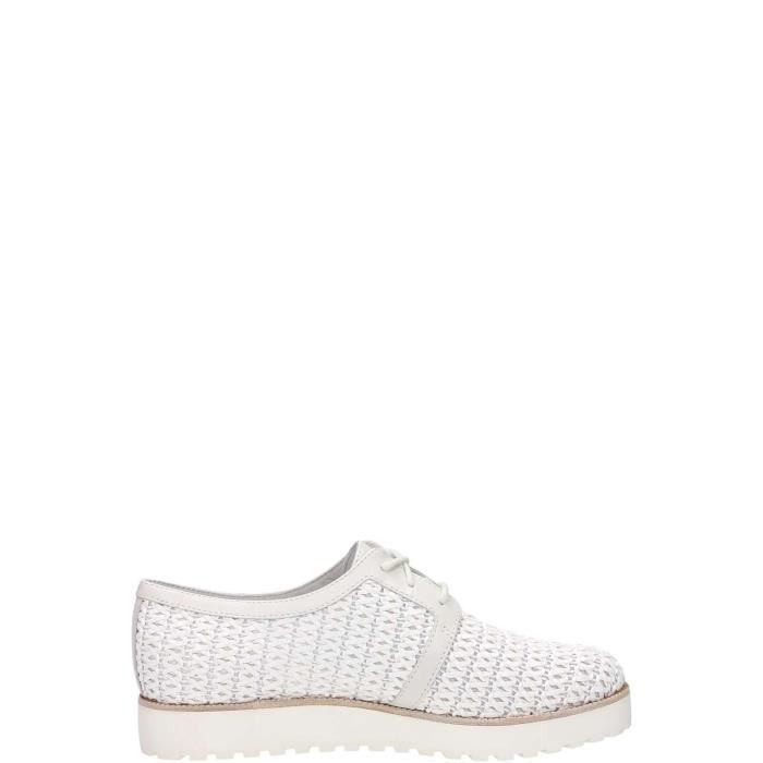 What For Lace Shoes Femme Blanc, 41