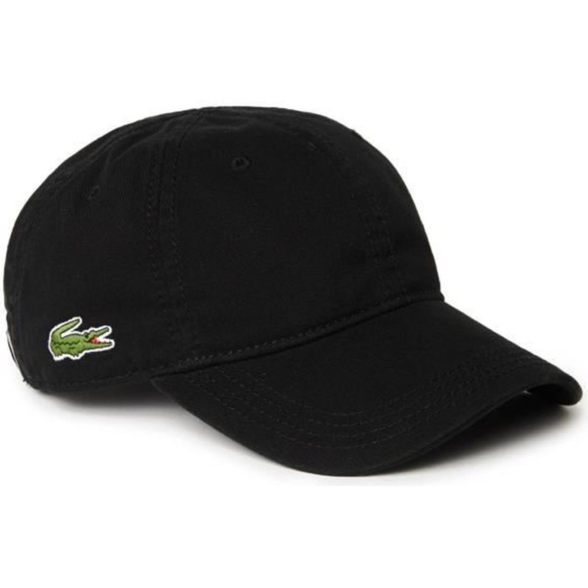 lacoste homme casquette baseball noire small croco rk9811 achat vente casquette. Black Bedroom Furniture Sets. Home Design Ideas