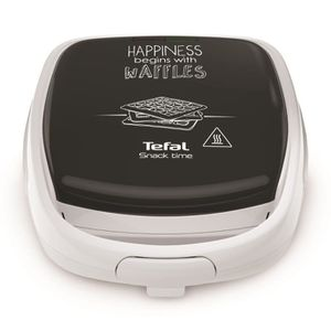 TEFAL SW341112 Croque Gaufres Multifonction Snack Time Happiness - Plaques amovibles anti adhésives
