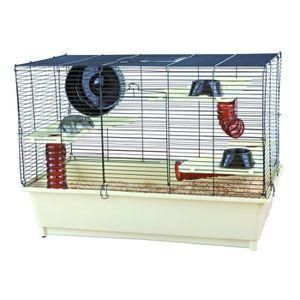 TRIXIE Cage avec équipement de base pour hamster