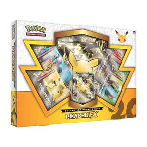 CARTE A COLLECTIONNER Coffret Septembre 2016 - Pikachu ex - Asmodee - Ve
