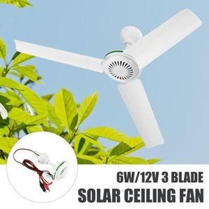 VENTILATEUR DE PLAFOND MEI Ventilateur de Plafond Energie Solaire 3 Lames