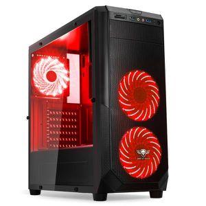 UNITÉ CENTRALE  Ordinateur Pc Gamer Rogue Red AMD A6 9500 - Mémoir