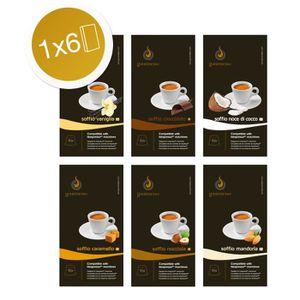 CAFÉ Mini Coffret Flavor- 60 capsules de cafés aromatis