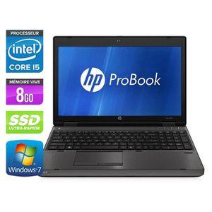 ORDINATEUR PORTABLE HP ProBook 6560B - 15,6'' -Core i5 -8Go -120Go SSD