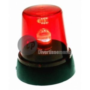 LANTERNE FANTAISIE Lampe gyrophare rouge