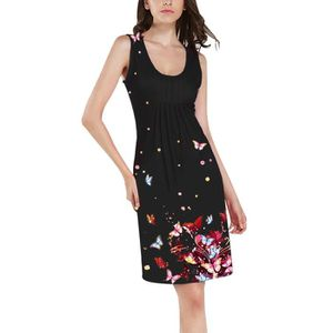 6628063e0bd ROBE Minetom Robe de Plage Femme Eté Imprimée Sans Manc