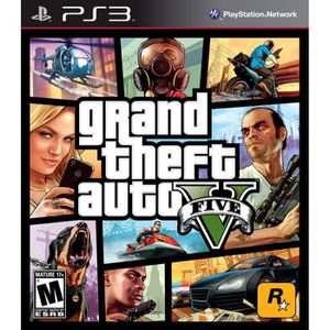 CONSOLE PS3 GTA 5 PLAYSTATION 3