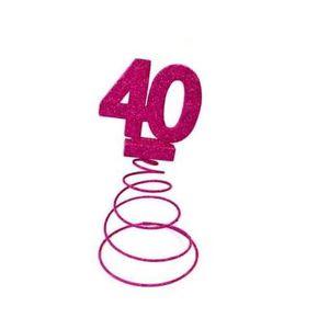 Decoration table anniversaire 40 ans achat vente - Deco table anniversaire 40 ans ...