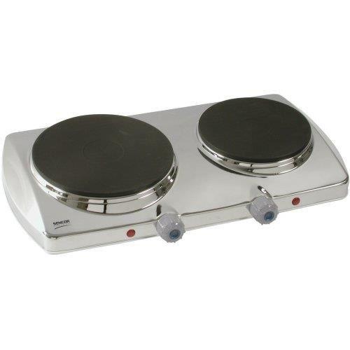 SENCOR SCP2251 Plaque de cuisson posable en fonte - Inox