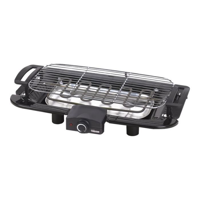 TRISTAR BQ2811 Barbecue électrique de table - Noir