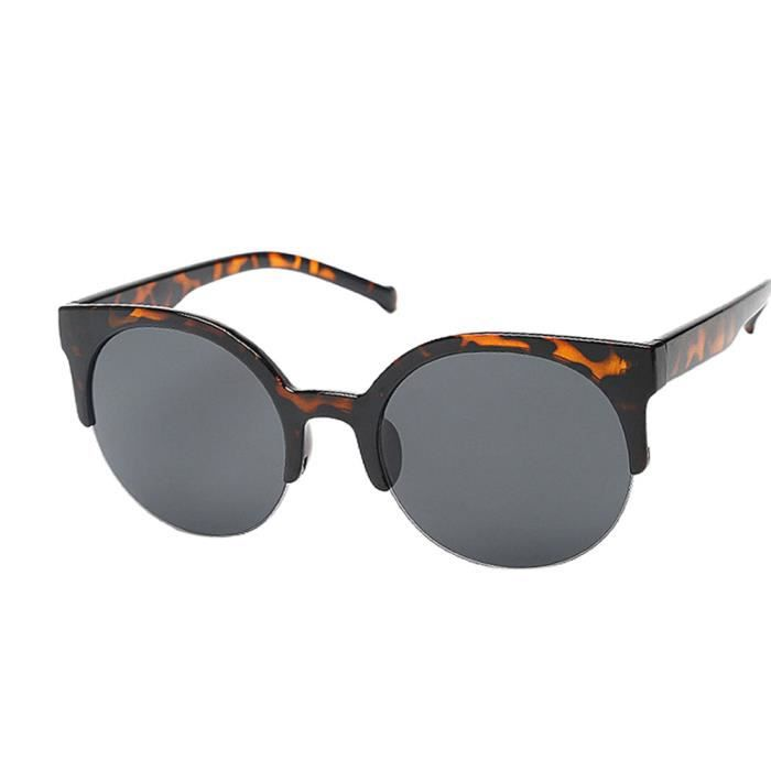 Lunettes de soleil unisexe–Design classique rétro élégant Bon Marché Taux Mode Aviators Lunettes de soleil, Navy Blue frame Clear Lens