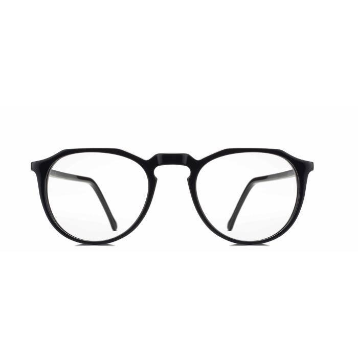 Round Lunettes Lunettes de lunettes haut de gamme Full Frame (unisexe | 50 | clair | rx-mesure | el208) THCAV