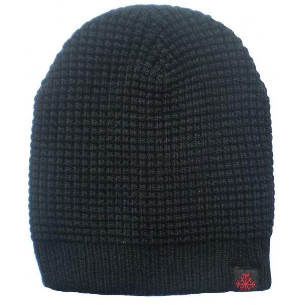 lacer dans célèbre marque de designer braderie bonnet noir /bonnet /bonnet mixte /bonnet homme /bonnet femme /bonnet flocon