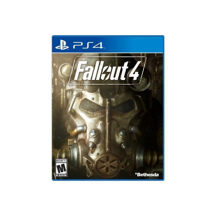 JEU PS4 Fallout 4 PlayStation 4 anglais