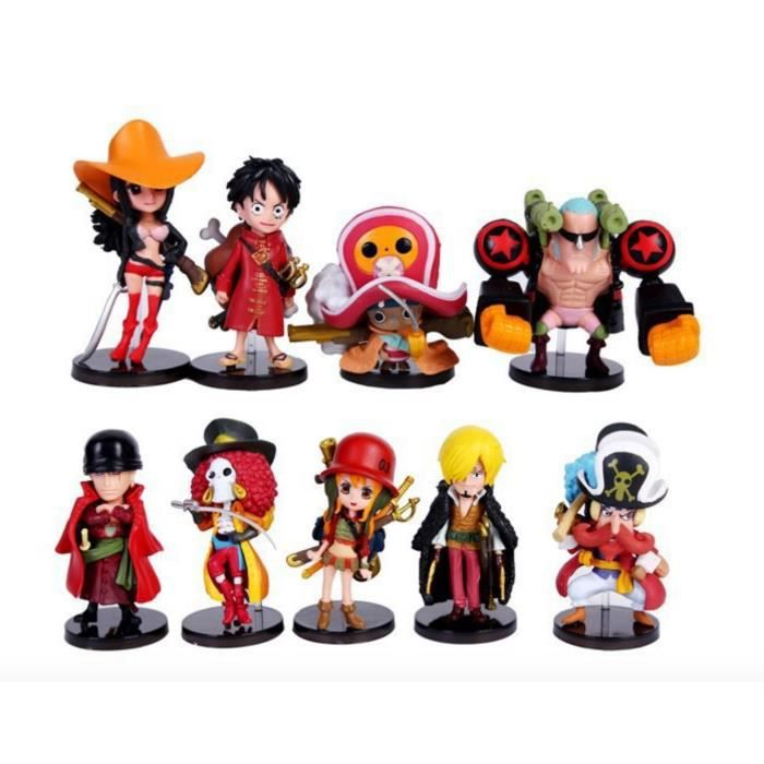 One piece figurines 2 ans plus tard sanji zoro lufeiqiaoba main rouge faire th tre achat - Image one piece 2 ans plus tard ...