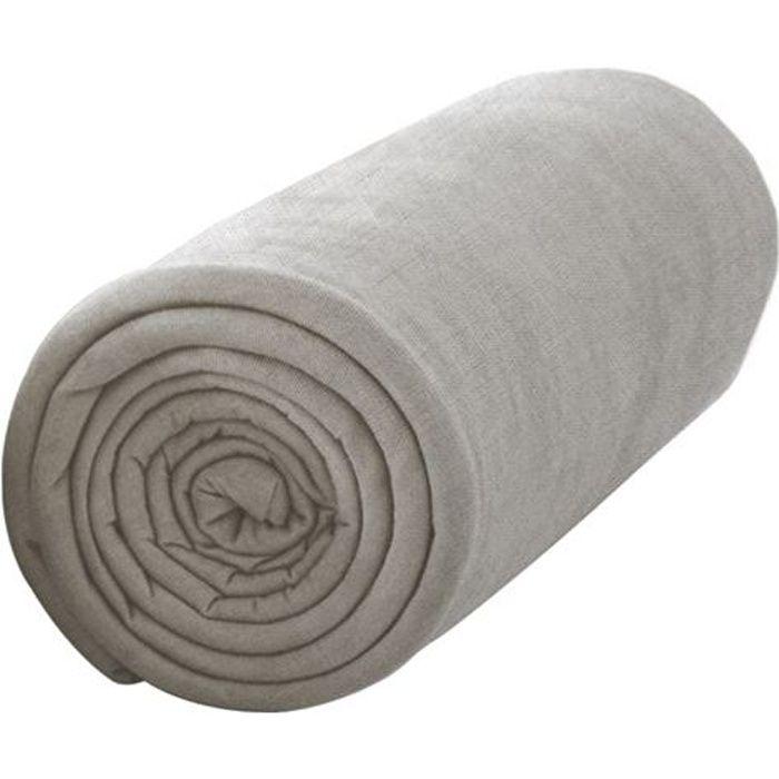 DRAP HOUSSE TODAY Drap housse jersey 100% coton - 140x190 cm -