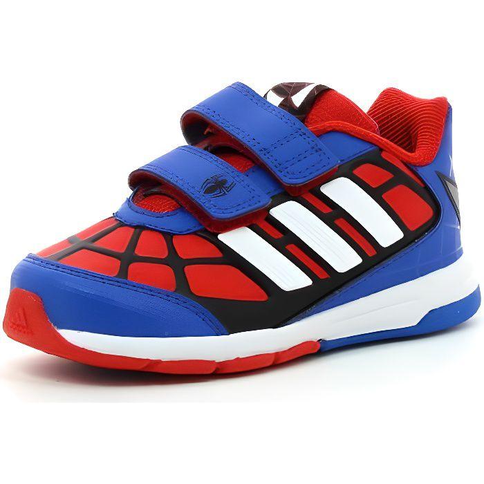 97e08684185 Baskets bébé Adidas Marvel Spiderman CF Rouge Rouge - Achat / Vente ...