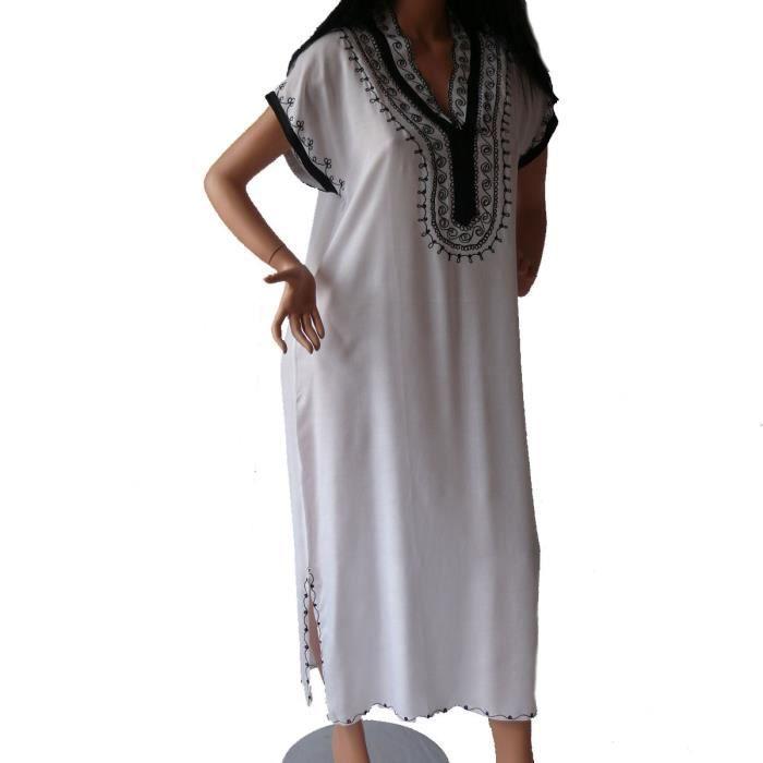 Robe tunique marocaine - XXL