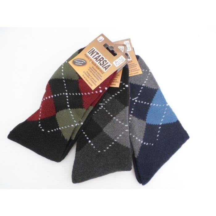 lot de 3 paires de chaussettes motif jacquard homme ado. Black Bedroom Furniture Sets. Home Design Ideas