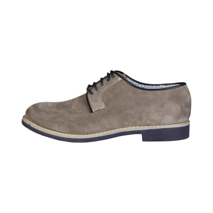Made in Italia - Chaussures à lacet pour homme (GIULIANO_TAUPE) - Gris
