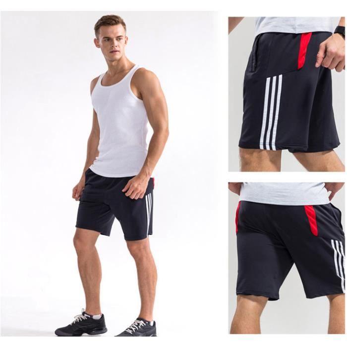 tenue de sport shorts homme running fitness casual shorts. Black Bedroom Furniture Sets. Home Design Ideas