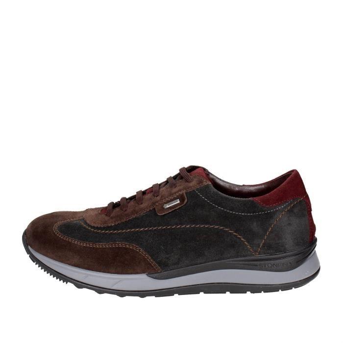 Sneakers Stonefly Marron Gris Homme 41 zawva
