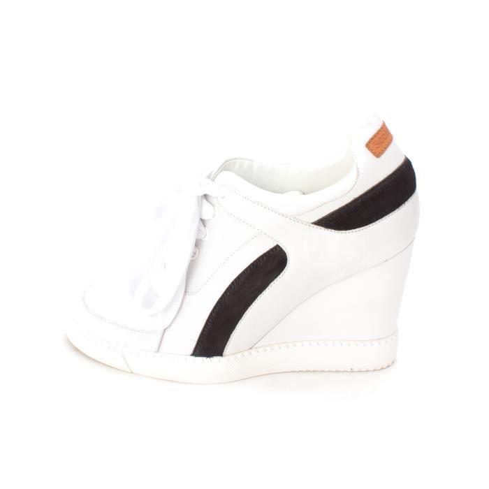 Femmes See by Chloé Bianco Chaussures De Sport A La Mode