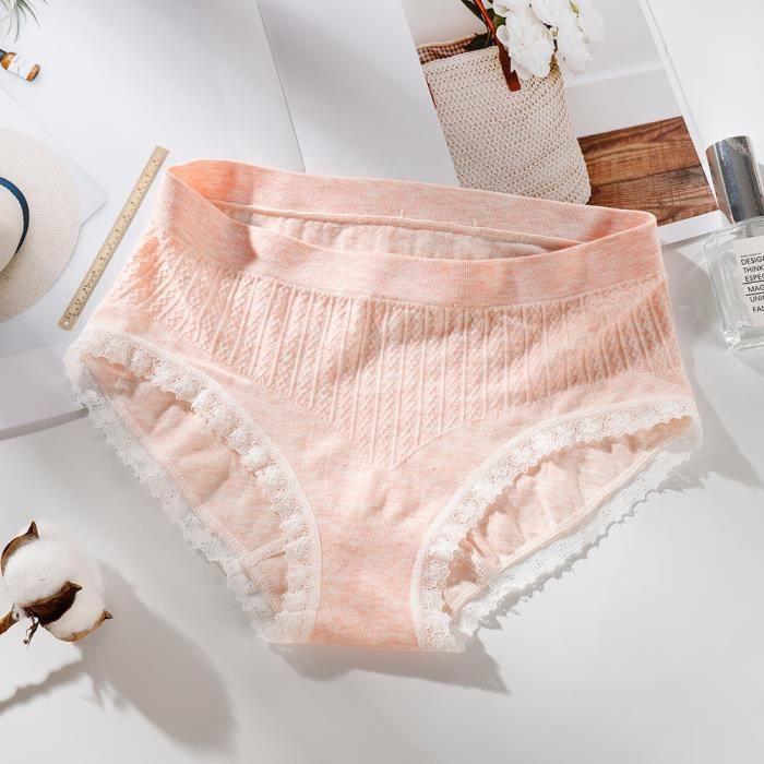 Lingerie Sans Femmes Slips Culottes Sous Thongs Moyenne vêtements De Hauteur Kaki Couture Les RZwzR