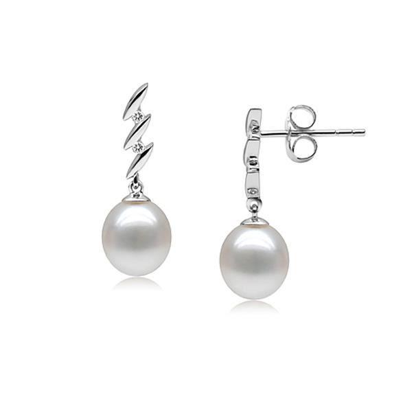 Boucles dOreilles Design en Perle