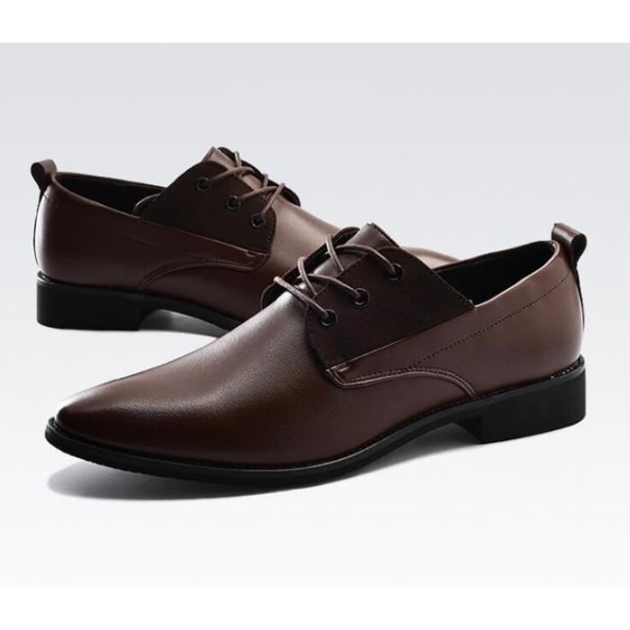 Hommes Loisirs Chaussures en cuir Chaussures respirantes pour hommes Chaussures Mocassins Flats taille 38-44