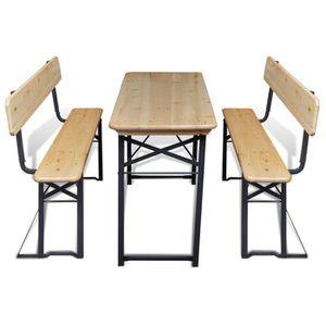 Salon de jardin bois - Achat / Vente Salon de jardin bois pas cher ...