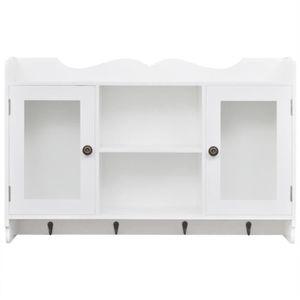 petite vitrine en verre achat vente petite vitrine en verre pas cher cdiscount. Black Bedroom Furniture Sets. Home Design Ideas