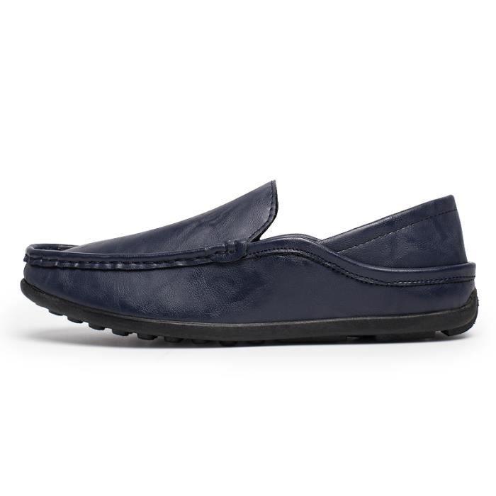 Mocassins pour homme cuir - Loafers confort - Chaussures de ville k38lpd