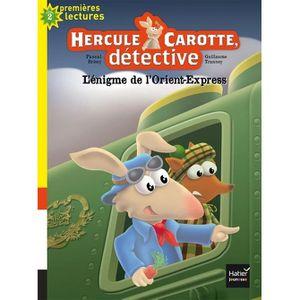 Livre 6-9 ANS Hercule Carotte, détective Tome 3 : L'énigme de l'