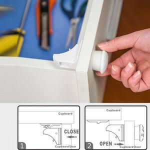 BLOQUE TIROIR Serrures magnétiques de tiroir et de sécurité magn