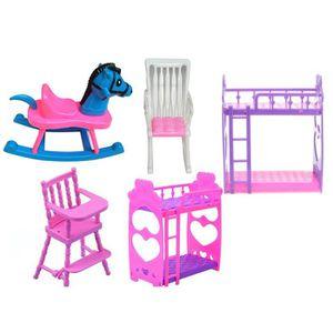 ACCESSOIRE POUPÉE Bricolage Enfants Fille Jouer Maison Poupée Lit Su