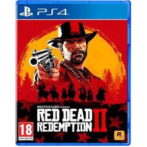 JEU PS4 Red Dead Redemption 2 PlayStation 4 français